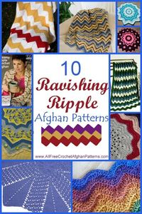 Newly Updated: 10 Ripple Crochet Afghans from http://StitchAndUnwind.com http://sulia.com/my thoughts/1d760c50-9d6b-4216-9eda-ab76da8d7d3f/