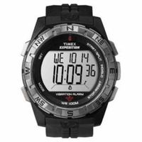 Timex Expedition Vibrate Alert Watch - Full Size - Black @The Lavender Lilac