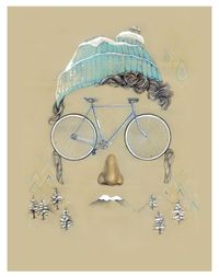 SuperBike Me by Daniela Carvalho, via Behance