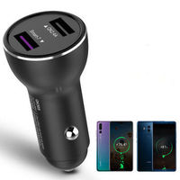 Bakeey QK505 Dual USB Quick Charge 3.0 Fast Car USB Charger for iPhone for Samsung Xiaomi Huawei