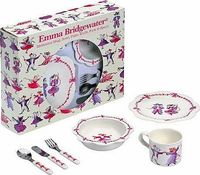 Emma Bridgewater Dancing Mice Nursery Dinner Set This absolutely gorgeous melamine dinner set from Emma Bridgewater is the perfect gift for a little girl. Featuring an adorable Dancing Mice design (Barcode EAN=5033735444042) http://www.comparestor...