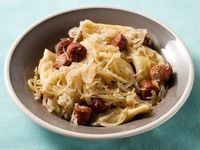 Pierogies with Sauerkraut, Onions and Kielbasa - The Huffington Post