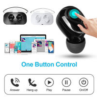 Portable Bluetooth Wireless Earphone Headset Twins Earbuds For Tablet Cellphone