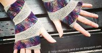 Ravelry: Double Helix Mitts pattern by Sybil R