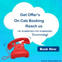 Get the Best Offers for Cab Booking in India. Call us now and Book your Holidays in Advance