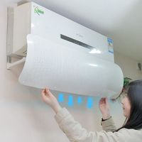 Adjustable Air Baffle Shield For Air Conditioner