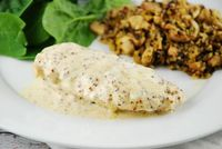 Checkout this easy Creamy Dijon Chicken Recipe at LaaLoosh.com! Creamy, tangy and delightfully flavorful, it'll cost you only 5 Points +. Perfect quick dinner r