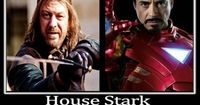 House Stark: Still Kicking Ass After All These Centuries. Go, Ned and Tony!!