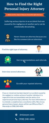 Steps to Find the Right Personal Injury Attorney