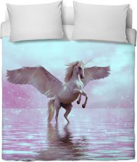 ROB Unicorn Pastel Duvet Cover $120.00
