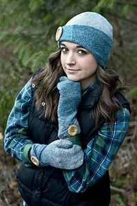 Sock hat and mittens