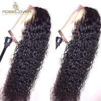 360 Lace Frontal Wig Brazilian Remy Curly Lace Front Human Hair $292.50