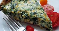 Amazing Spinach Quiche Recipe remodelaholic.com #recipe #quiche