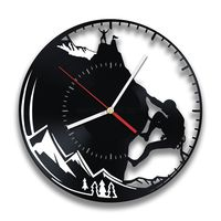 Gullei.com Best Gift for Hikers Vinyl Record Wall Clock