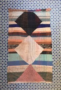 'FLY AWAY WITH ME' FLAT WEAVE BOUCHEROUITE RUG