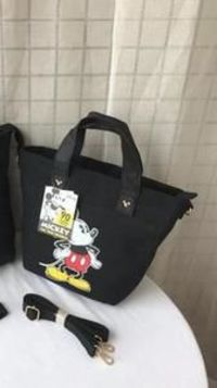 Disney Mickey Mouse Canvas Cross body Shoulder Bag Large Capacity Shopping + Book Bag~ available in a choice of colours