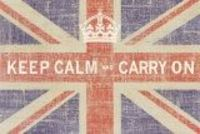 love the keep calm carry on and crown could do without the flag