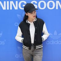 Must-have Student Style Split Front Solid Color Slimming Casual 9/10 Sleeves Baseball Jacket Top Coat - Bonny YZOZO Boutique Store