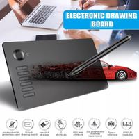 VEIKK A15 Drawing Board Graphics Handwriting Pad Board Digital Tablet with Pen USB Cable for Mac Drawing Board
