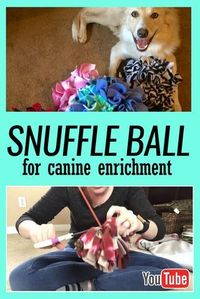 How to make a snuffle ball