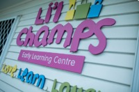 Lil Champs early childhood learning centre, we value over quality teaching staff and a place where love, laughter and learning abounds for every child