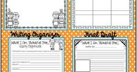 Check out this amazing FREE packet- perfect for a November writing activity!