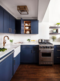 Colors, but with white for upper cabinets