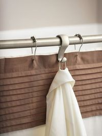 """We've all been there�€""""the too-small shower with no space to put the shampoo, soap and all the other daily necessities. These hooks from Moen simply clip onto the shower rod, providing easy storage within arm's reach."""