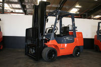 This 2013 Toyota 10000 LB forklift will lift to a height of 187�€ and is equipped with Side Shifter, Complete Light Package. Unit has Cushion tires. Put this unit on a 60 month, $1.00 buyout lease for only $581 per month plus tax.@ http://www.ecolal...