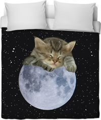 ROB Goodnight Kitten Duvet Cover $120.00