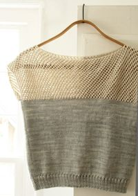 cap sleeve lattice top (Could I do this crochet top to an old t-shirt? Could be really cool!)