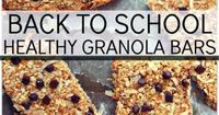 Healthy Granola Bars!!! No Eggs, Flour, Salt, Added Sugar, Butter, Dairy or Oil!