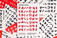 "Natasha Jen / Pentagram �€"" Identity for the event FailurexDesign at the 4th Annual HarvardxDesign Conference"