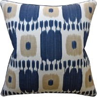 Kandira Indigo Decorative Pillow $305.00