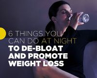 6 Things You Can Do At Night to De-Bloat And Promote Weight Loss | Women's Health Magazine