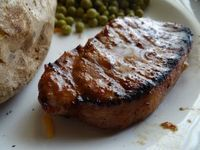Easy and delicious marinade for grilled pork chops!