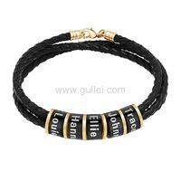 Family Names Charms Bracelet for Father  https://www.gullei.com/family-names-charms-bracelet-for-father.html