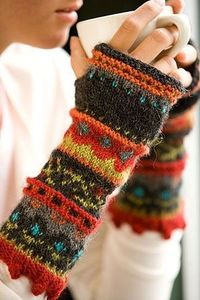 Love these wrist warmers!