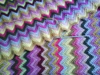 love these colors! Free pattern for ripples blanket, nice, thanks so xox