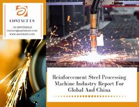 The reinforcement steel processing machine industry report is an overview of the global industry. The report offers insights into the China market. Get a detailed report.