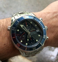 Replica Omega Seamaster Chronograph Dial Watch 2225.80 Review