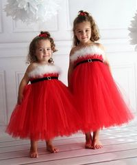 Take a look at this Red Santa Tutu Dress - Infant, Toddler & Girls by Heart to Heart on #zulily today!