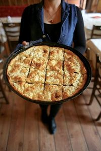 Made with a simple egg batter, this feta-studded tart hails from the region of Epirus.