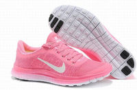 Women Nike Free Pink Run Shoes For Sale