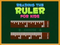 Reading The Ruler ($0.00) A kid friendly and easy way to learn how to read the Inches and Metric rulers.