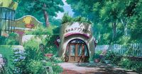 Ghibli Museum Illustrated Postcards By Yoshida Noboru