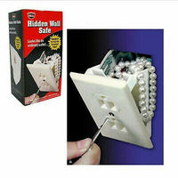 Hidden Wall Safe Diversion Safe Outlet Safe Stash Box Hide Valuables Compartment