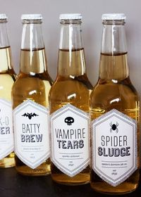 Halloween Labels And Party Printables