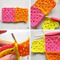 How to Join as You Go #Crochet by Color n Cream