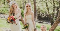 DIY Vintage Boho Chic Wedding Ideas from Simply by Tamara Nicole photographed by Jaqueline Shumate Photography.